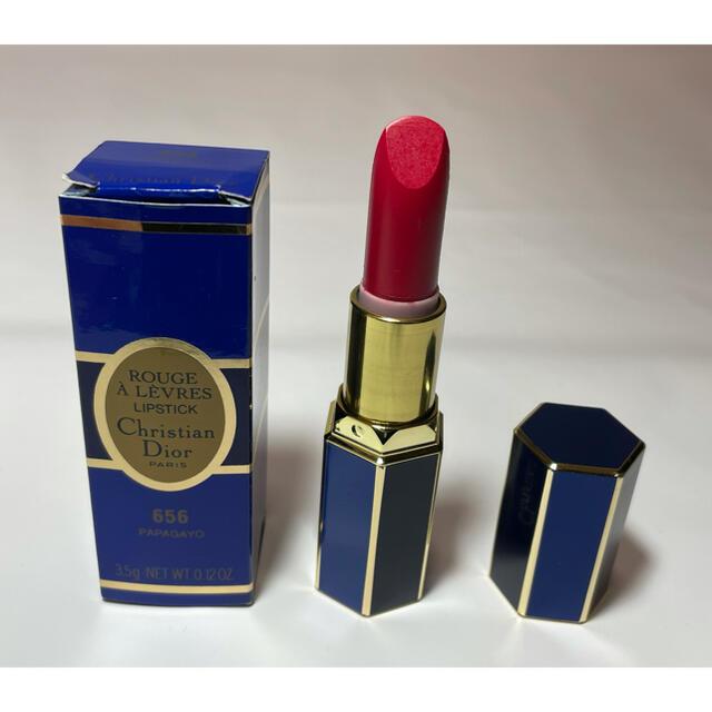 Christian Dior(クリスチャンディオール)の新品未使用■Dior ディオール ルージュアレーヴル 656 赤 口紅 コスメ/美容のベースメイク/化粧品(口紅)の商品写真
