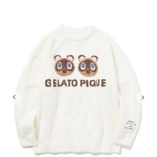 gelato pique - あつ森 ジェラートピケ つぶまめジャガードプルオーバー ジェラピケ