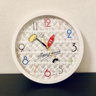 ディズニー(Disney)のミッキーの掛け時計 Mickey Mouse(掛時計/柱時計)