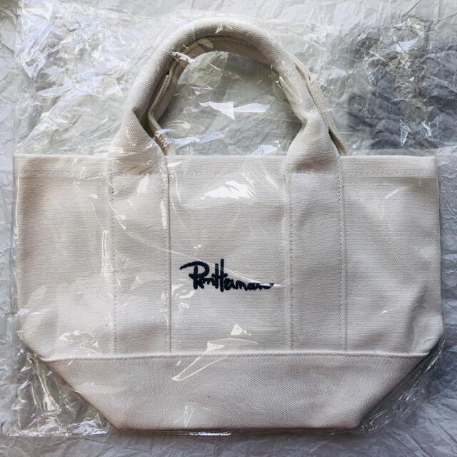 Ron Herman(ロンハーマン)の《新品未使用》 ロンハーマン トートバッグ ホワイト 数量限定!! レディースのバッグ(トートバッグ)の商品写真