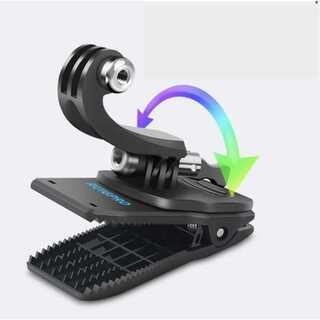 GoPro クリップマウント アウトドア クリップ式 回転式(その他)