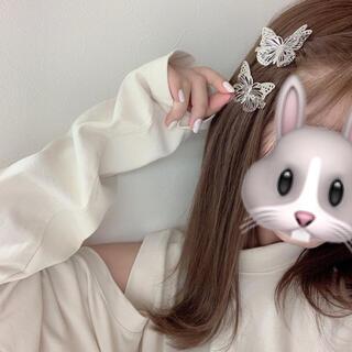 Bubbles - 蝶ヘアクリップ