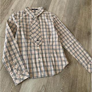 BURBERRY - Burberry バーバリー チェックシャツ 150 値下げ