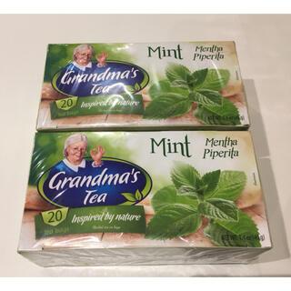 【新品未開封 】ミントティー  2箱セット(茶)