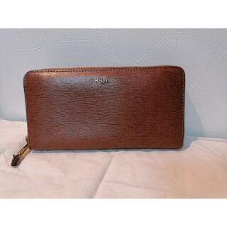 ラルフローレン(Ralph Lauren)の美品:目立つ汚れなし 長財布(財布)