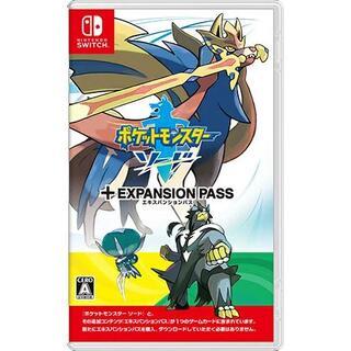 Nintendo Switch - 新品switch ポケットモンスター ソード エキスパンションパス