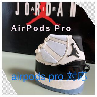 スニーカー型エアポッズ AirPods ProケースJordan11 コンコルド(モバイルケース/カバー)