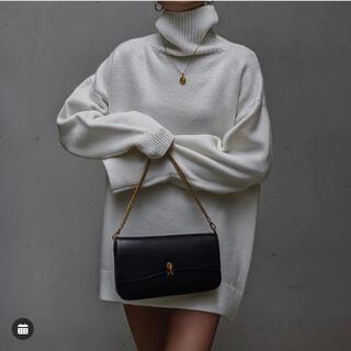 アリシアスタン(ALEXIA STAM)のACLENT Volume wool knit (ロングワンピース/マキシワンピース)
