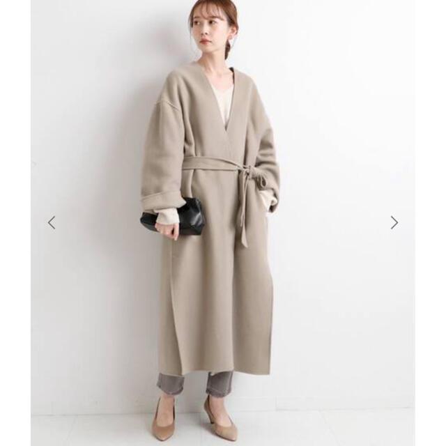 IENA(イエナ)の✴︎専用✴︎IENA MANTECO♡ダブルフェイスコート♡ベージュ34 レディースのジャケット/アウター(ロングコート)の商品写真