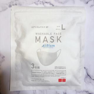 UNIQLO - UNIQLO エアリズムマスク 3枚セット Lサイズ