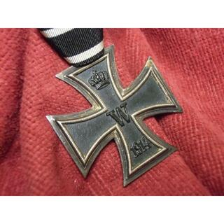 W帝政ドイツ軍/プロイセン王国*1914鉄十字勲章2級(実物)(戦闘服)