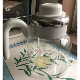パイレックス(Pyrex)のパイレックス 2ウエイポット 岩城ガラス サーバー ホット&クール レトロ(ガラス)