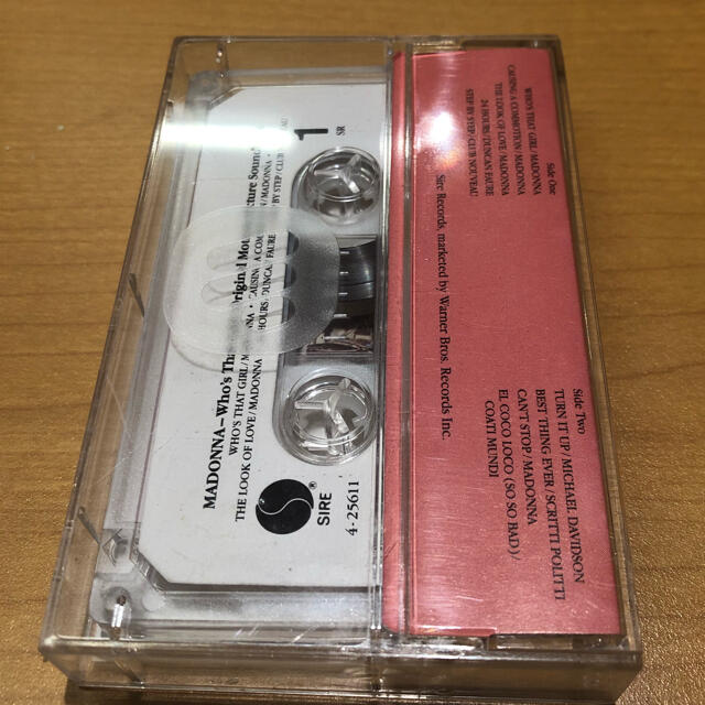 マドンナ Who's That Girl  カセットテープ エンタメ/ホビーのCD(ポップス/ロック(洋楽))の商品写真