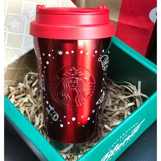スターバックスコーヒー(Starbucks Coffee)のスターバックス✨ホリデー ステンレス togo タンブラー(タンブラー)