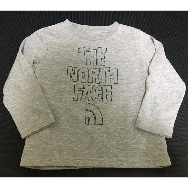 THE NORTH FACE(ザノースフェイス)の100 ノースフェイス キッズ ロンT キッズ/ベビー/マタニティのキッズ服男の子用(90cm~)(Tシャツ/カットソー)の商品写真