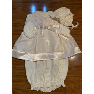 mikihouse - 新品タグ付き 赤ちゃんの城 フォーマルドレス ベビードレス