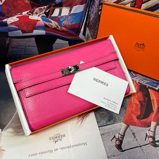 Hermes - 【正規品】HERMES 美品 2018年 エルメス 『ケリー』ロング 長財布