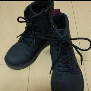 エイチアンドエム(H&M)のH&M エイチアンドエム キッズ レザーブーツ 17cm(ブーツ)