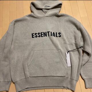 エッセンシャル(Essential)の本物 fog  エッセンシャルズ ニットパーカー fog essentials(パーカー)