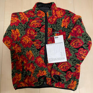 Supreme - 【美品】 SUPREME sherpa rose fleece jacket M