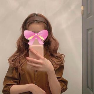 eimy istoire - 【新品】パフスリーブレザートップス 裏起毛