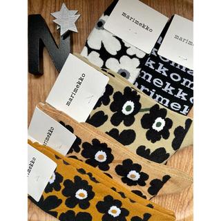 marimekko - クリアランスsaleマリメッコ靴下ベージュ黒5点セット組み合わせ変更可能です❤︎