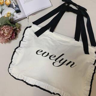 evelyn - evelyn リボン付きトートバッグ