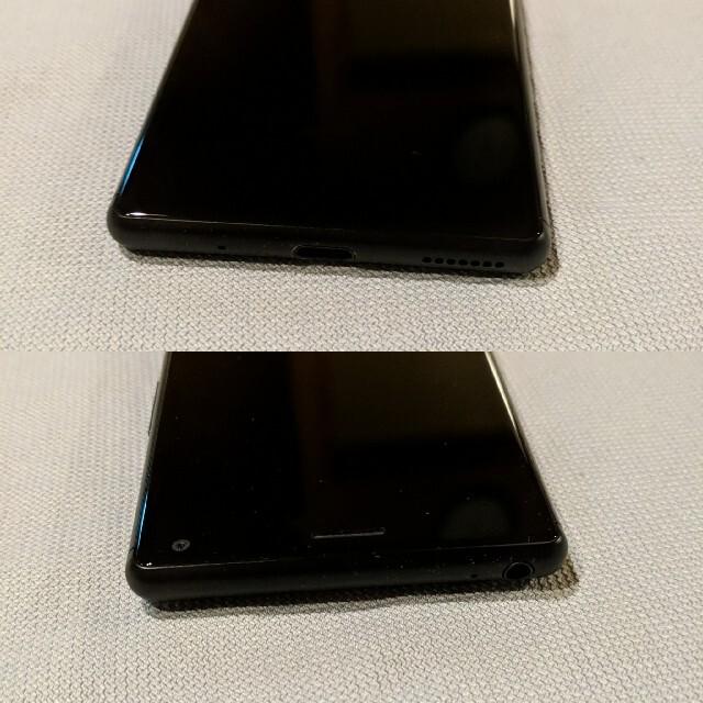 Xperia 8 [ブラック] 902SO SONY  スマホ/家電/カメラのスマートフォン/携帯電話(スマートフォン本体)の商品写真