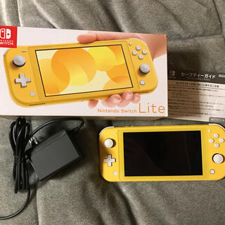 Nintendo Switch - Nintendo Switch Lite イエロー 美品