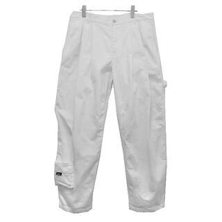 COMME des GARCONS - GOSHA 18SS CARPENTER WORK WHITE PANTS
