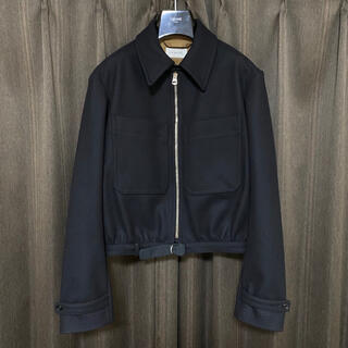 LEMAIRE - LEMAIRE  ZIPPED BLOUSON  ルメール