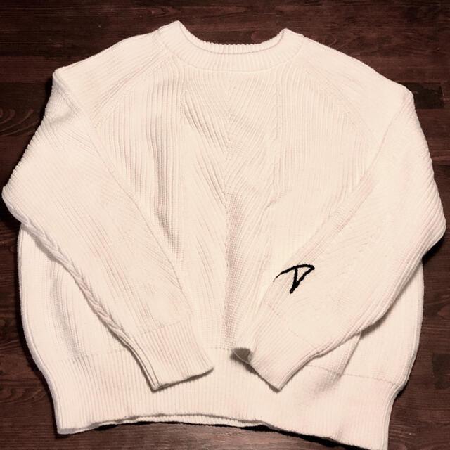 Ron Herman(ロンハーマン)のDEMYLEE×ロンハーマンチェルシーイニシャルニット レディースのトップス(ニット/セーター)の商品写真