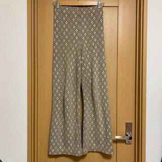 アリシアスタン(ALEXIA STAM)のJuemi Pattern Jacquard Knit Pants(カジュアルパンツ)