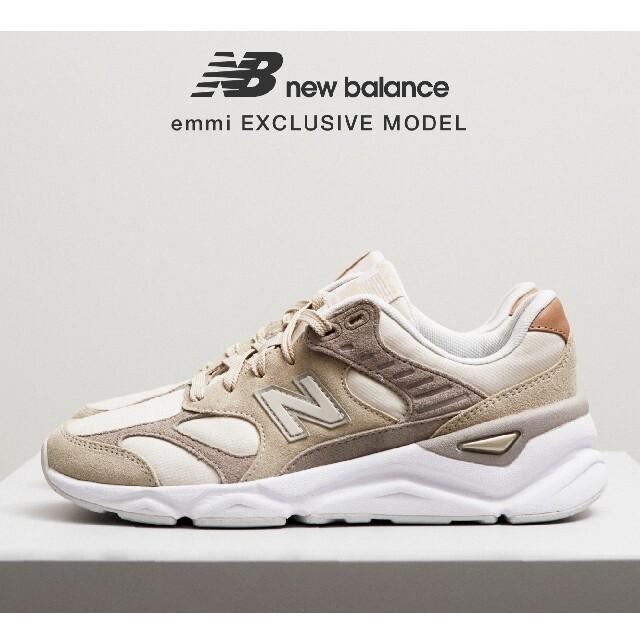 New Balance(ニューバランス)の新品☆new balance✕emmi スニーカー 24.0cm ベージュ  レディースの靴/シューズ(スニーカー)の商品写真