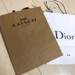 ディオール(Dior)のDior COACHショップ袋(その他)