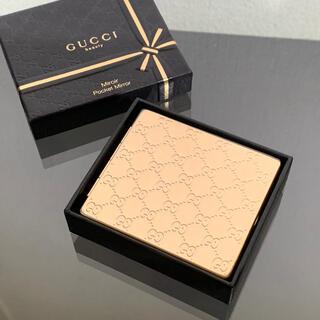 Gucci - 未使用 グッチ GG 両面 携帯 コンパクト ミラー 手鏡 箱有り