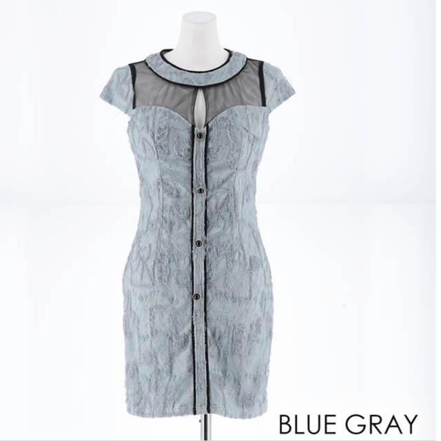 dazzy store(デイジーストア)のdazzy store デコルテチュール総レースタイトミニドレス レディースのフォーマル/ドレス(ナイトドレス)の商品写真