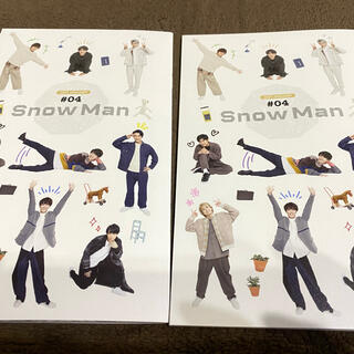 Johnny's - スノーマン snowman 会報 1周年