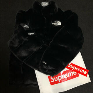 シュプリーム(Supreme)のSupreme The NorthFace Faux Fur Nuptse(ダウンジャケット)