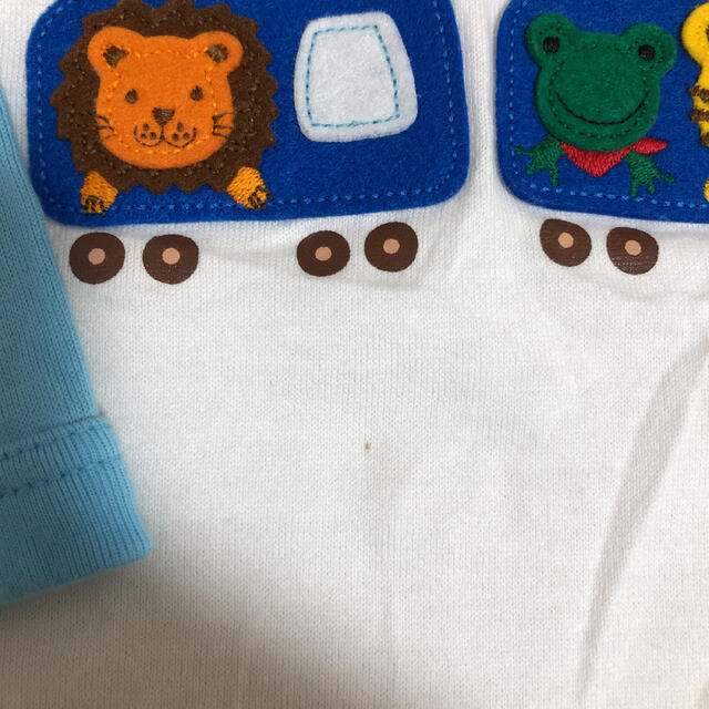 mikihouse(ミキハウス)のミキハウス ロンT キッズ/ベビー/マタニティのキッズ服男の子用(90cm~)(Tシャツ/カットソー)の商品写真