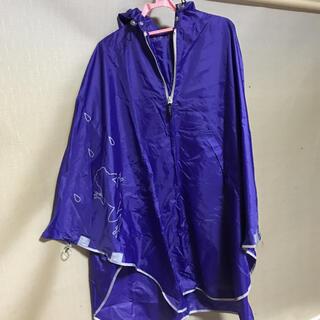 マブ(mabu)の美品 マブ ポンチョ レインコート 登山 雨具(レインコート)