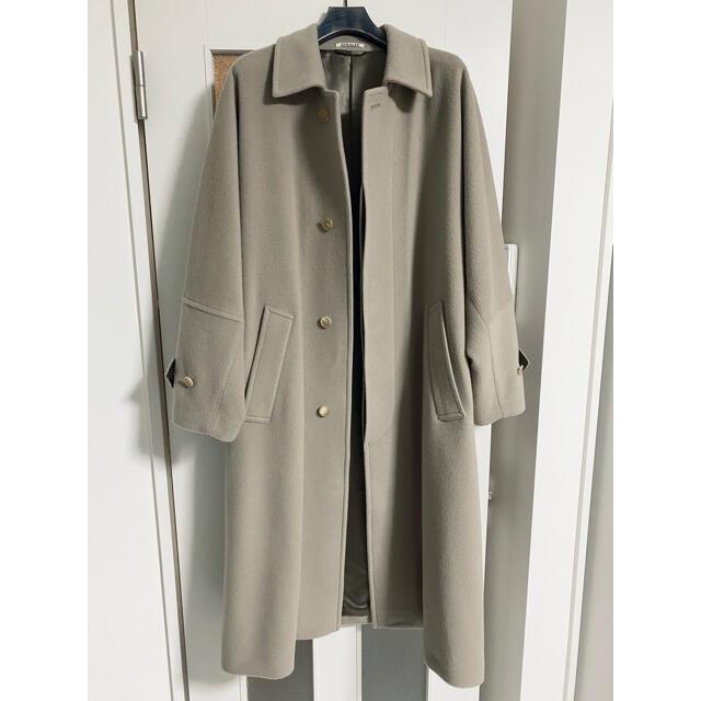 COMOLI(コモリ)のAURALEE 20aw カシミア ステンカラー コート メンズのジャケット/アウター(ステンカラーコート)の商品写真
