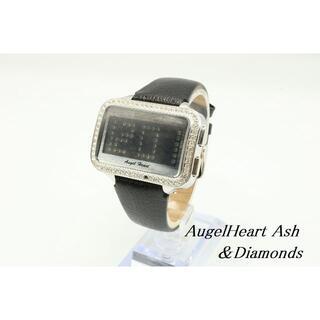 エンジェルハート(Angel Heart)のW-591 動作品 電池未交換 エンジェルハート×アッシュ&ダイアモンド 腕時計(腕時計)