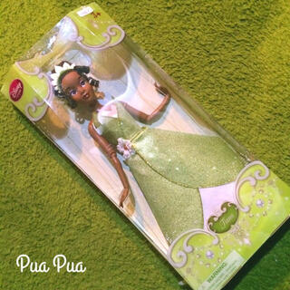ディズニー(Disney)の新品!日本未発売■ ティアナ フィギュア人形■ 希少ディズニープリンセス(ぬいぐるみ/人形)