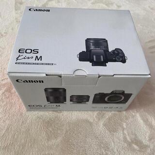 Canon -  ミラーレスカメラ EOS Kiss M ダブルズームキット