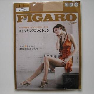 アツギ(Atsugi)のアツギ FIGARO フィガロ ストッキング サイズL~LL スキニーベージュ(タイツ/ストッキング)