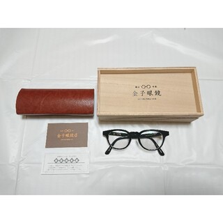 Ayame - 【美品】金子眼鏡 KC-18 セルロイド製 黒
