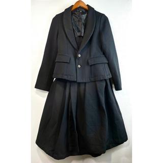 COMME des GARCONS - 美品 AD2004 コムデギャルソン ジャケット スカート スーツ ワンピース