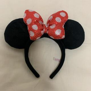 ディズニー(Disney)のディズニー ミニー カチューシャ スパンコール(カチューシャ)