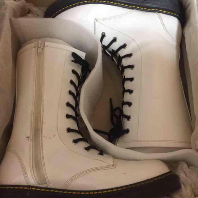 編み上げ♡白ブーツ KERA 原宿 レディースの靴/シューズ(ブーツ)の商品写真